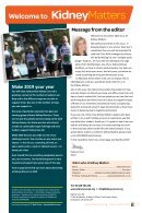 Kidney Matters - Issue 4, Winter 2019 - Page 3