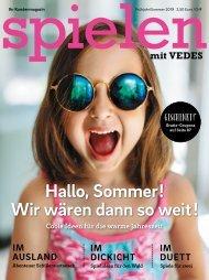 VEDES Magazin Frühjahr/Sommer 2019 | VM19