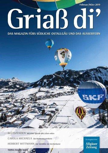 Griaß di' Magazin Februar / März 2019