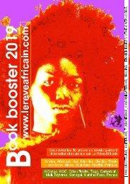Le Book Booster 2019 du Rêve Africain