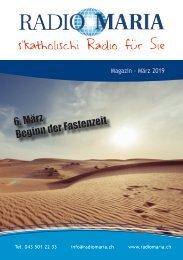 Radio Maria Magazin - März 2019