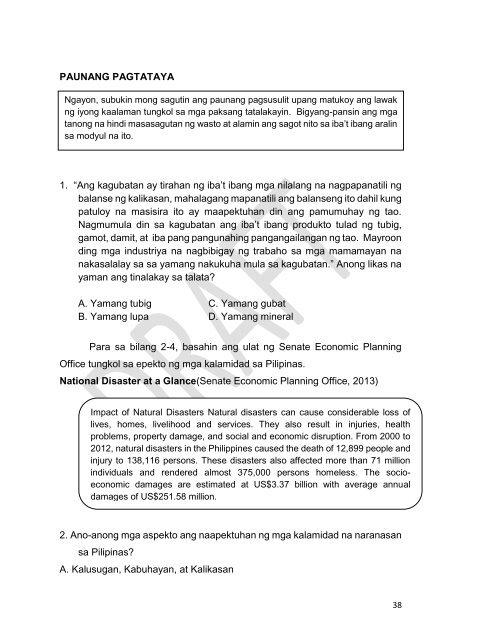 Mga Halimbawa Ng Yamang Enerhiya Sa Pilipinas {Daikel}