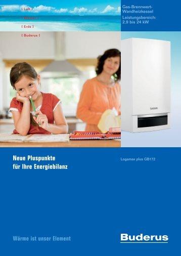 Neue Pluspunkte für Ihre Energiebilanz - Hartmann & Maas