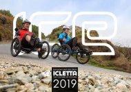ICLETTA Liegedreirad Katalog 2019