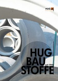 Hug Baustoffe AG_Imagebroschure