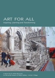 Art for All: Inspiring, Learning and Transforming