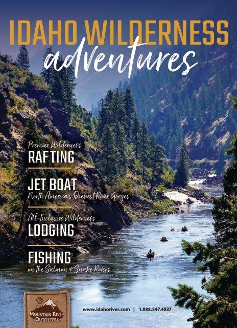 MRO   Idaho Wilderness Adventures - Rafting - Jet Boat Tours - Lodging