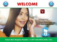 Yahoo Mail Helpline Number +1-877-336-9533 For USA