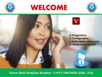 Yahoo Mail Helpline Number +1877-503-0107 For USA