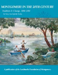 Montgomery in the 20th Century - Tradition & Change, 1880 - 2010