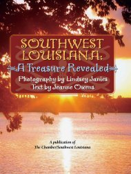 Southwest Louisiana - A Treasure Revealed