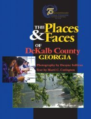 The Places & Faces of DeKalb County