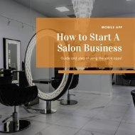 Online Beauty Salon App Builders