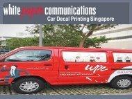 Car Decal Printing Singapore