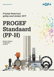 (NL) Prijslijst PROGEF Standaard (PP-H) 2019