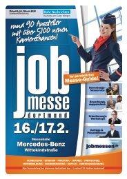 Der Messe-Guide zur 11. jobmesse dortmund