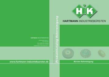 Produktkatalog Rohrreinigung - Hartmann Industriebürsten