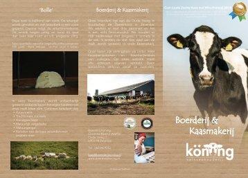 Boerderij & Kaasmakerij Köning