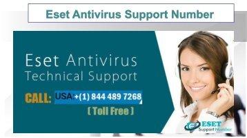 Eset antivirus support number