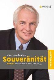 Leseprobe: Karrierfaktor Souveränität von Theo Bergauer