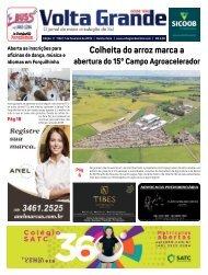 Jornal Volta Grande | Edição 1152 Forq/Veneza