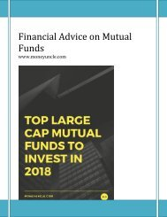 Financial Advice on Mutual Funds