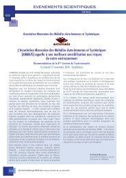 Rôle des pollutions dans le développement des maladies auto-immunes au Maroc