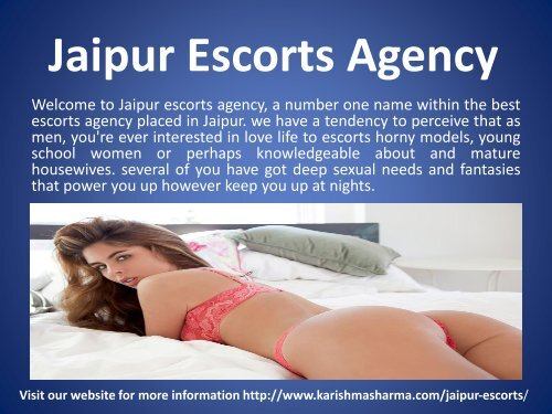 Jaipur Independent Escorts Service