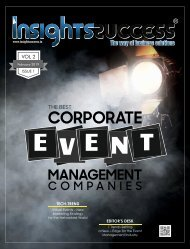 The Best Corporate Event Management Companies to Watch in 2018