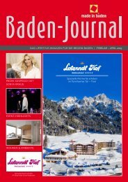 Baden-Journal Februar - April 2019