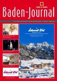 Baden-Journal Februar - April 2019
