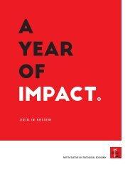 MIT IDE 2018 Annual Report
