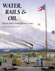 Water Rails & Oil - Historic Mid & South Jefferson County