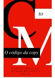 Código da copy