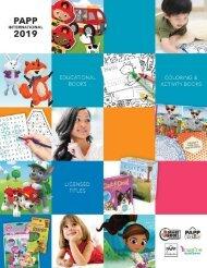 PAPP International 2019 Catalogue