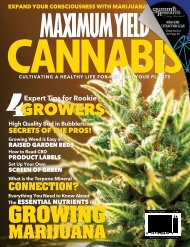 Maximum Yield Cannabis | Canadian Edition | Issue 01 2019