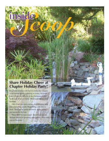 Chapter Newsletter (PDF) - California Landscape Contractors ...