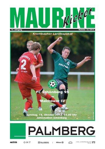 FC Schönberg 95 Malchower SV