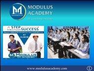 MODULUS ACADEMY