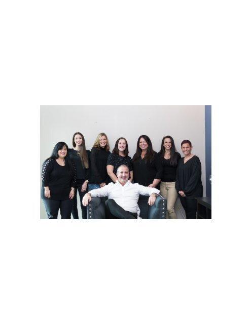 Dental team at Trinity FL dentist A Glamorous Smile