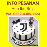 Tempat Toko Kue Ulang Tahun Makassar, WA0852.4385.2123 Kue Tart Di Makassar.