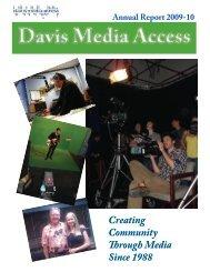 DMA Annual Report '09-10.pdf - Davis Media Access