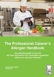 The Professional Caterer's Allergen Handbook