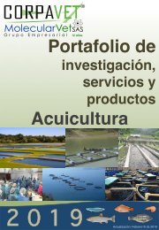 PORTAFOLIO DE SERVICIOS 2019  ACUICULTURA 10-02-19