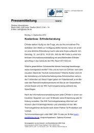 Pressemitteilung - IHK Fulda