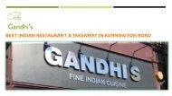 Gandhi's - Indian Restaurant & Takeaway in Kennington Road, London