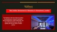 The Rajdoot - Best Indian Restaurant & Takeaway in Hampstead, London