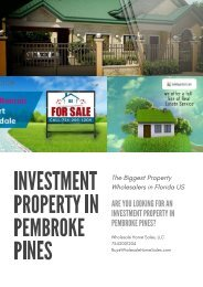 Investment property in Pembroke Pines
