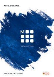 Moleskine Werbeartikel Katalog 2019