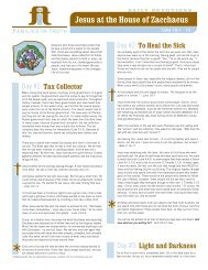 FIT - Jesus & Zacchaeus
